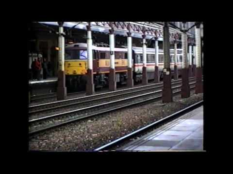 Diversions at Crewe in 1998 and a 47791 from Crewe to Cheltenham.