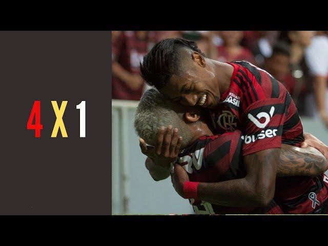 Fla usa talento e ataque poderoso para massacrar o Vasco: veja como foi a LIVE após os 4 a 1
