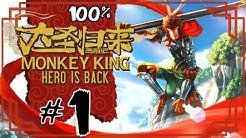 Monkey King: Hero is Back Walkthrough Part 1 (PS4) 100% Willow Village