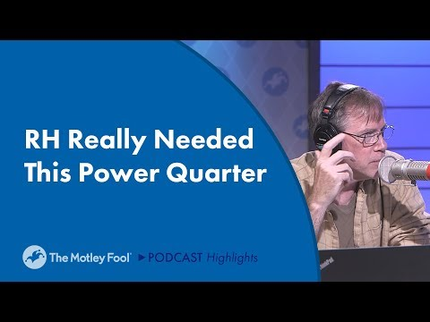 RH Really Needed This Power Quarter
