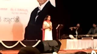 Shruti Sudhir Gama gama madasthava mallige