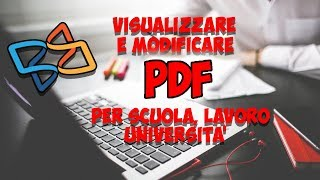 Come modificare PDF per scuola, lavoro e università gratis !! aggiungere forme e testo [ArmaDisk]