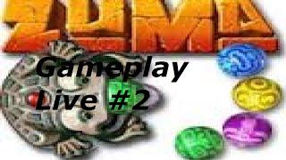 Gameplay Live #2 : Zuma Deluxe