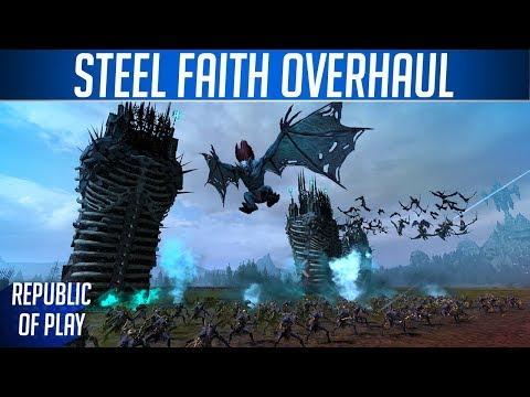 STEEL FAITH! - Total War: WARHAMMER Mod Preview