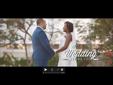 Sergio & Diana Wedding Highlights | Tanzania Wedding