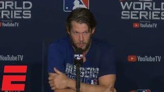 Clayton Kershaw talks Dodgers' World Series loss vs Red Sox, future | MLB Sound