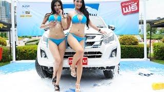 SEXY CAR WASH FAST AUTO SHOW 2016 FULL HD - D CAR MAGAZINE
