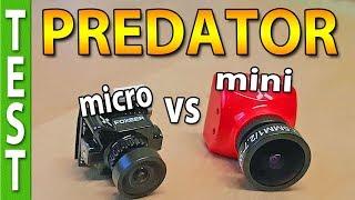Foxeer PREDATOR Micro vs Mini (image quality and latency compared)