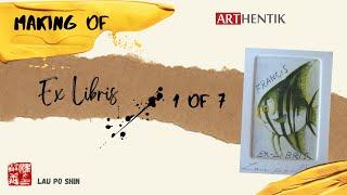 Ex Libris: The Making Of - Part 1 Design and Aquatint Technique (1 of 7)