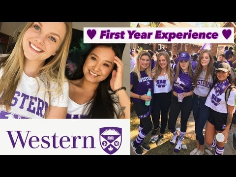 Western University And My First Year Experience