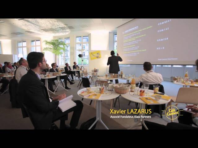 La valorisation financière des start-ups | Xavier Lazarus (Elaïa Partners) | Café Connect | Le Hub