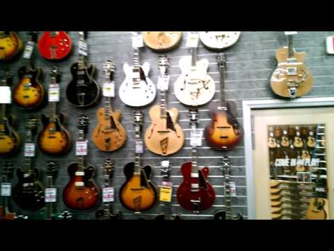 Sam Ash San Diego Guitars 12/10/15