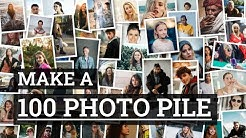 Make a 100 Photo Pile in 60 Seconds | TurboCollage