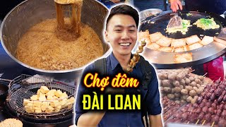 STREET FOOD TOUR in Ximending night bazaar | Taiwan Travel Guide #3