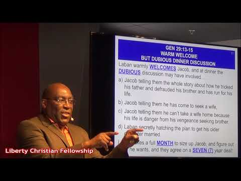 Jacob 'The Justified' is Disciplined for a Divine Purpose, with Pastor Earl Wallace 1-21-18