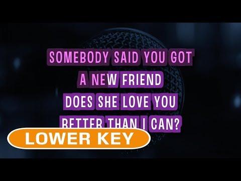 Dancing On My Own (Karaoke Lower Key) - Calum Scott