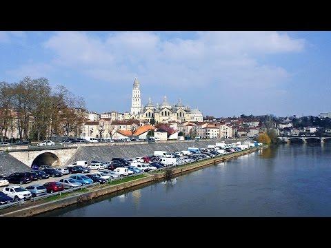 Guía / Ruta  por PÉRIGUEUX. Turismo y viajes Aquitania, Francia / France city tour visit ville