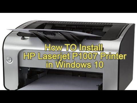 how-to-install-hp-laserjet-p1007-printer-in-windows-10