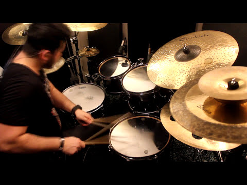 Mario Borrelli -  Yamaha live custom Oak - Turkish Cymbals | Online Drum Recording