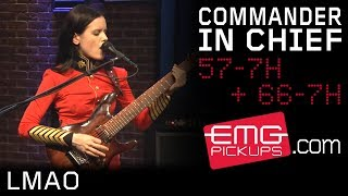 """The Commander In Chief performs """"LMAO"""" on EMGtv"""