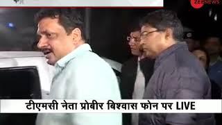 Exclusive: TMC minister Prabir Vishwas on CBI arrival at Kolkata Police Commissioner's house