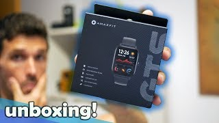 El smartwatch + DESEADO, Amazfit GTS | Unboxing en español ¿Apple Watch?