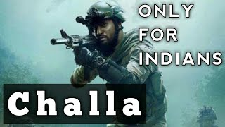 Challa | mai lad jaana | URI | INDIAN VERSION | MILITARY | VICKY K | YAMI G |