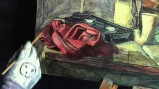 Painting a Vanitas Scene