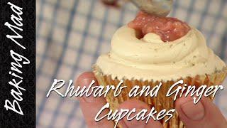 Baking Mad Monday: Eric Lanlard's Rhubarb And Ginger Cupcake Recipe