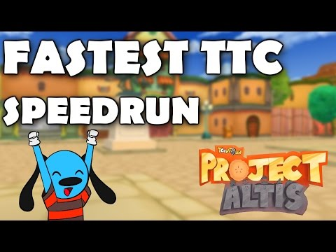 FASTEST TOONTOWN CENTRAL SPEED RUN 2:54:57 (Toontown: Project Altis)