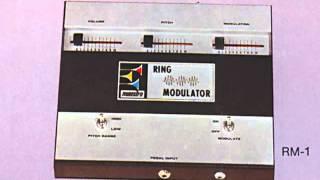 maestro ring modulator rm 1 demonstration record 1972