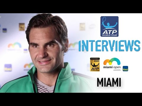 Federer Discusses How He Adjusted To del Potro At Miami 2017