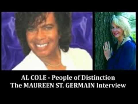 Maureen St. Germain Interview on People of Distinction with Al Cole