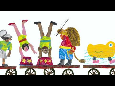 The Nonsense Show by Eric Carle book trailer - YouTube