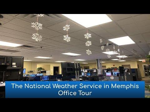 NWS Memphis office tour