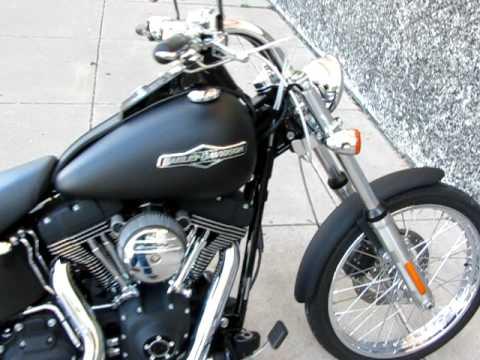 Harley Davidson Dyna For Sale >> Harley Night Train Carlini Drag Bars Samson Performance Exhaust For Sale - YouTube