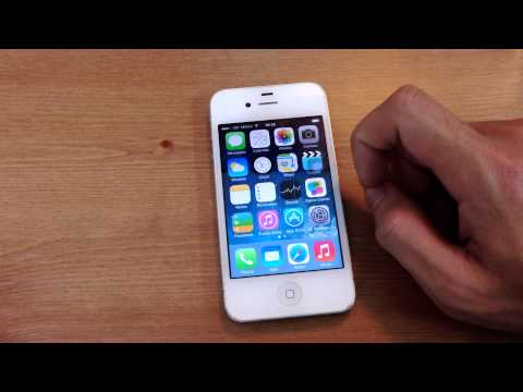 Reduce Motion iOS 7.0.3 on iPhone 4