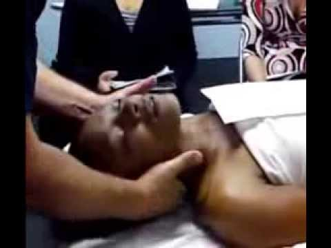 face neck massage