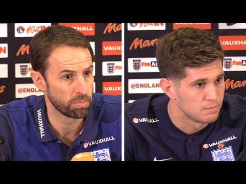 Gareth Southgate & John Stones Full Press Conference - England v Germany - International Friendly