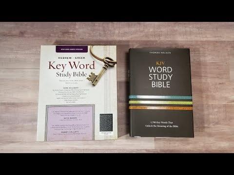 Ask Bible Buying Guide: Keyword Study Bible vs Word Study Bible