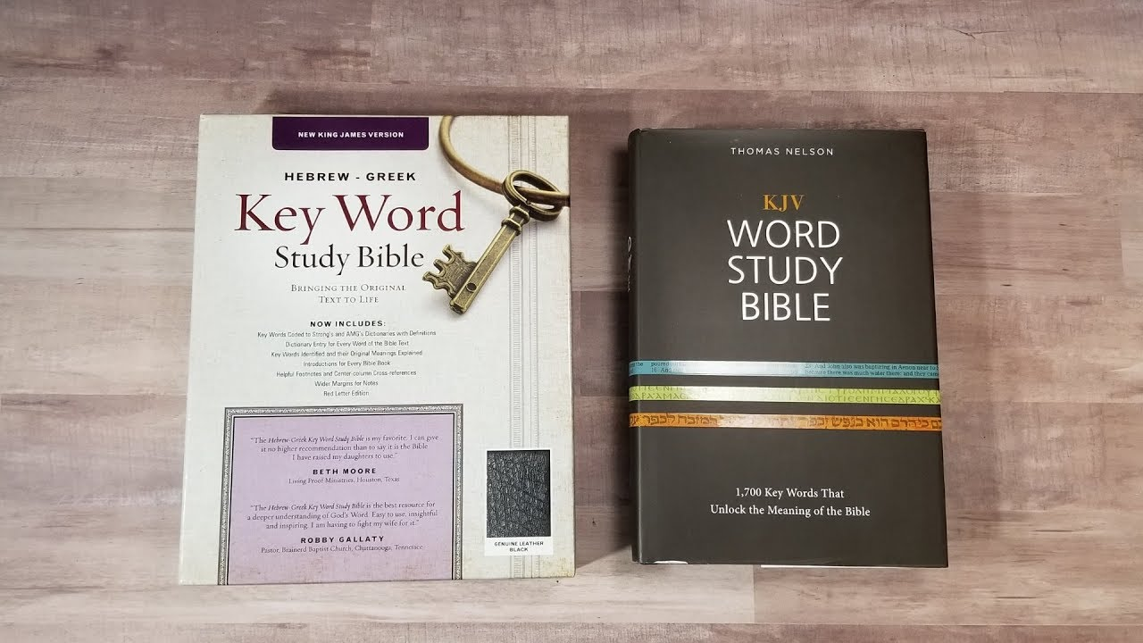 Ask Bible Buying Guide: Hebrew Greek Keyword Study Bible vs Word