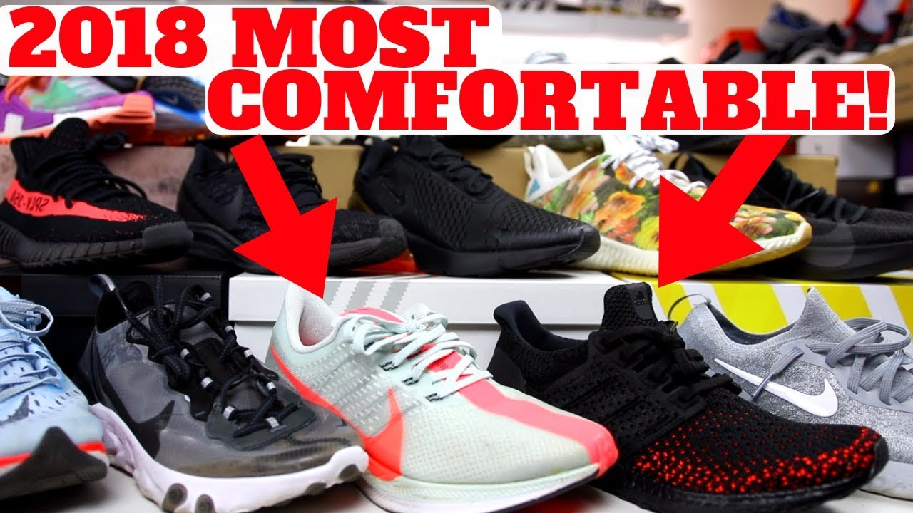 956236de9aa MOST COMFORTABLE SHOES IN 2018 SO FAR! - YouTube