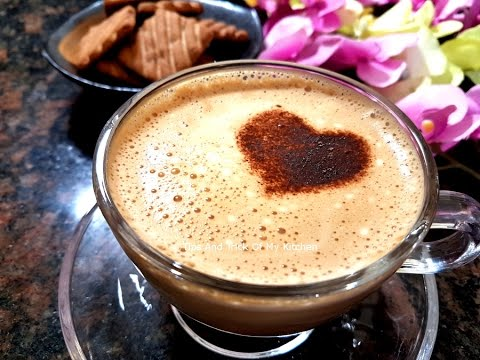 Homemade Cappuccino Recipe | Beaten Coffee Recipe in Hindi | Homemade Cappuccino Mix Without Machine