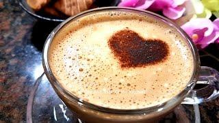 Gambar cover Homemade Cappuccino Recipe | Beaten Coffee Recipe in Hindi | Homemade Cappuccino Mix Without Machine