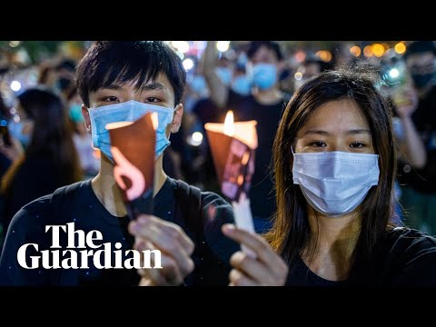 Thousands in Hong Kong defy ban to hold Tiananmen Square vigil