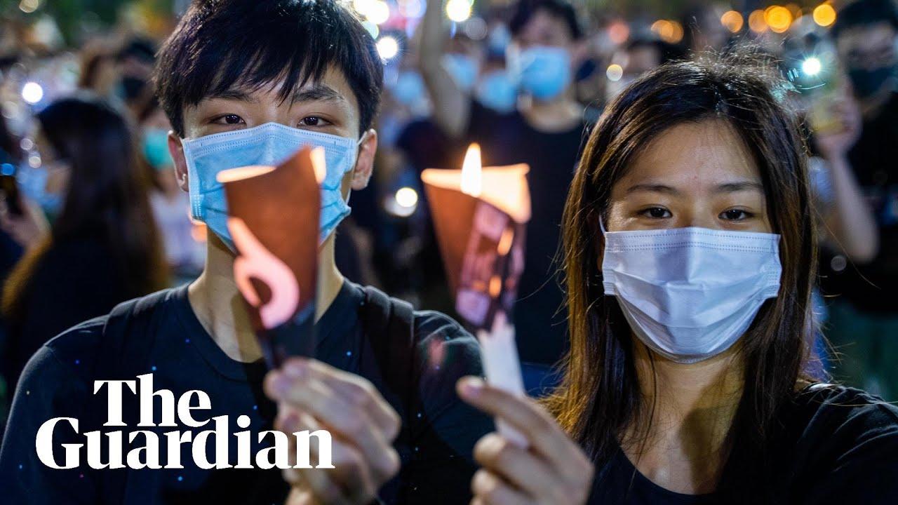 Hong Kong bans vigil for Tiananmen Square victims for second year ...