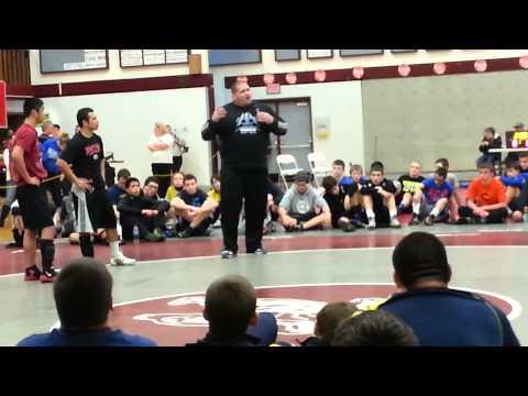 Olympic Gold Medalist Rulon Gardner: Wrestling Seminar and Motivational Speech!