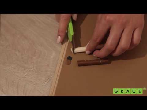 Реставрационные восковые мелки в наборах (как смешать для получения нужного цвета)