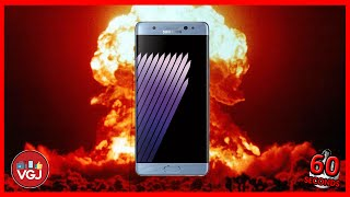 Samsung Galaxy Note 7 Explodes! All You Need to Know in 60 Seconds!