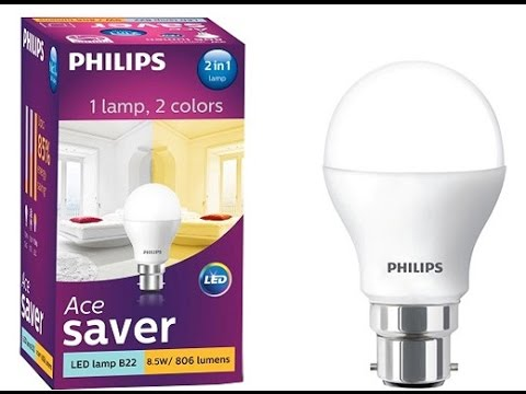 Philips 2 in 1 LED Bulb - innovative - YouTube